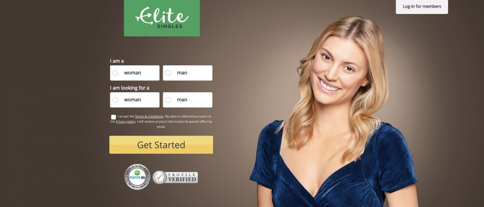 Elite Singles homepage: find long-lasting love online