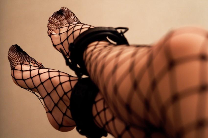 BDSM sub legs
