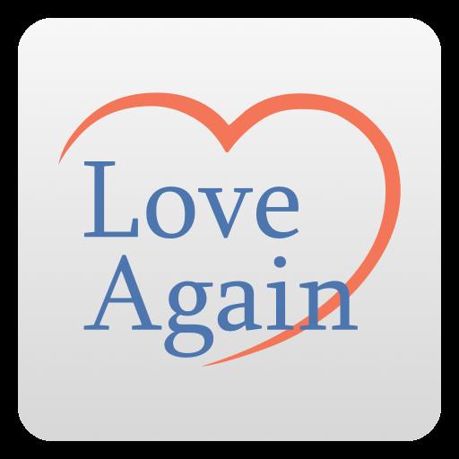 love again logo