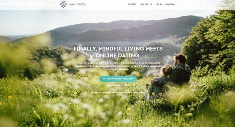 MeetMindful Landing Page